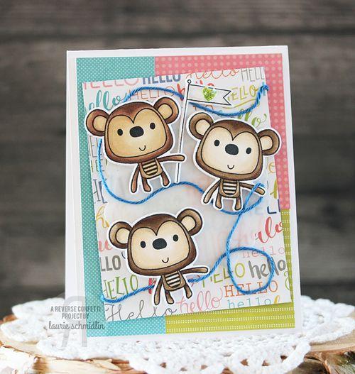 A Monkey Hello by Laurie Schmidlin