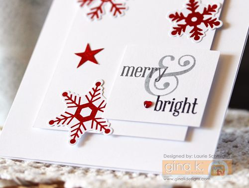 Merry & Bright (Detail) by Laurie Schmidlin