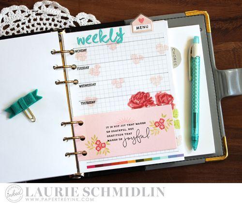 Weekly Menu 1 by Laurie Schmidlin