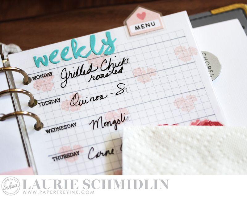 Weekly Menu 7 by Laurie Schmidlin