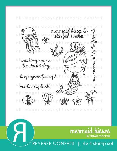 MermaidKissesProductGraphic