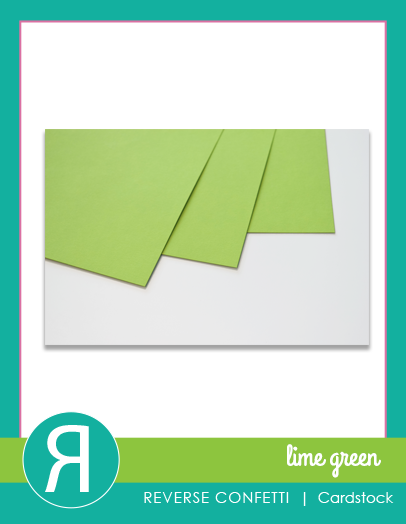 CardstockLimeGreenProductGraphic
