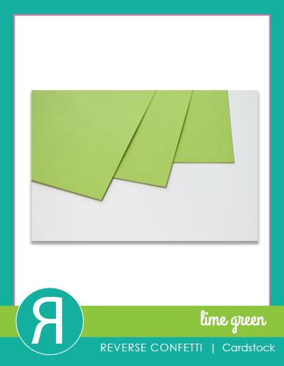CardstockLimeGreenProductGraphic