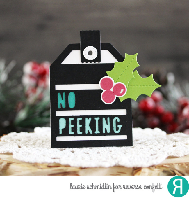 No Peeking Tag by Laurie Schmidlin