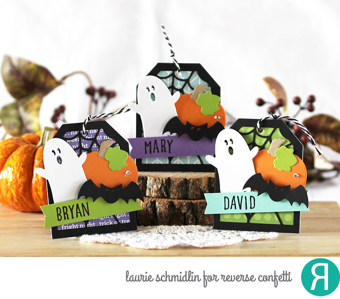 Boo! Gift Tag Set by Laurie Schmidlin