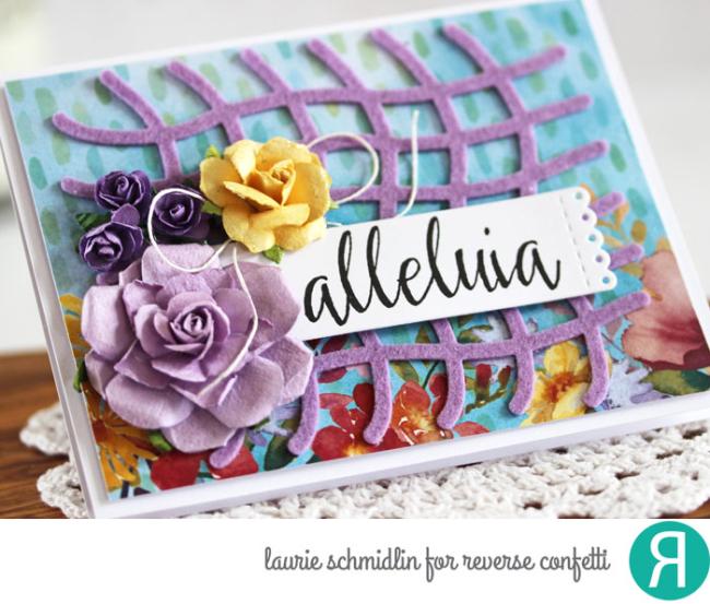 Alleluia (detail) by Laurie Schmidlin
