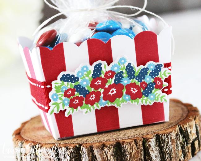 Patriotic Gift Basket (detail 2) by Laurie Schmidlin