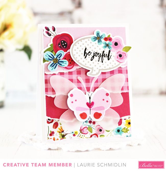 Be Joyful by Laurie Schmidlin