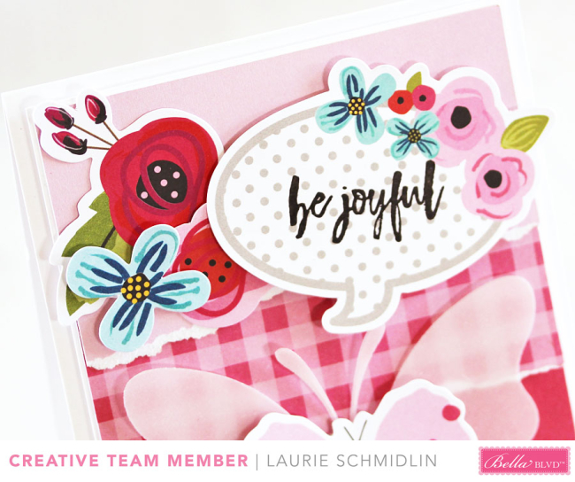 Be Joyful (detail) by Laurie Schmidlin