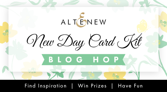 Altenewe Card Kit Blog Hop Graphic