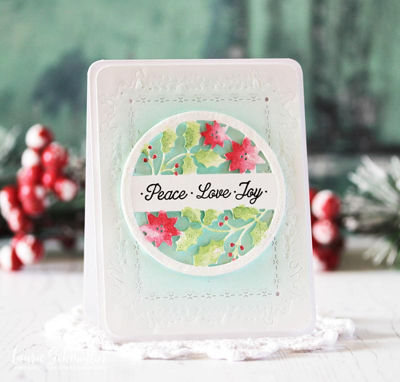 Peace Love Joy by Laurie Schmidlin