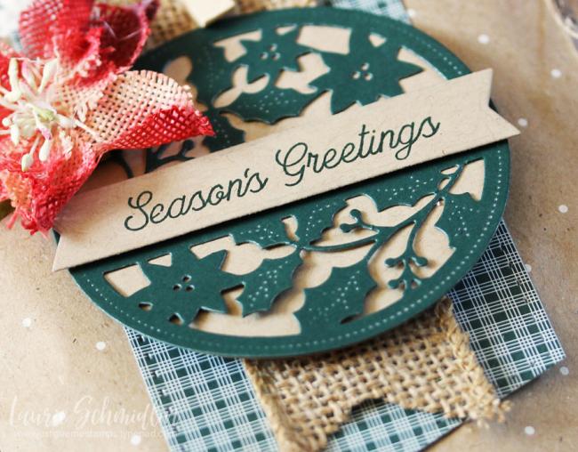 Season's Greetings Gift Bag (detail 2) by Laurie Schmidlin
