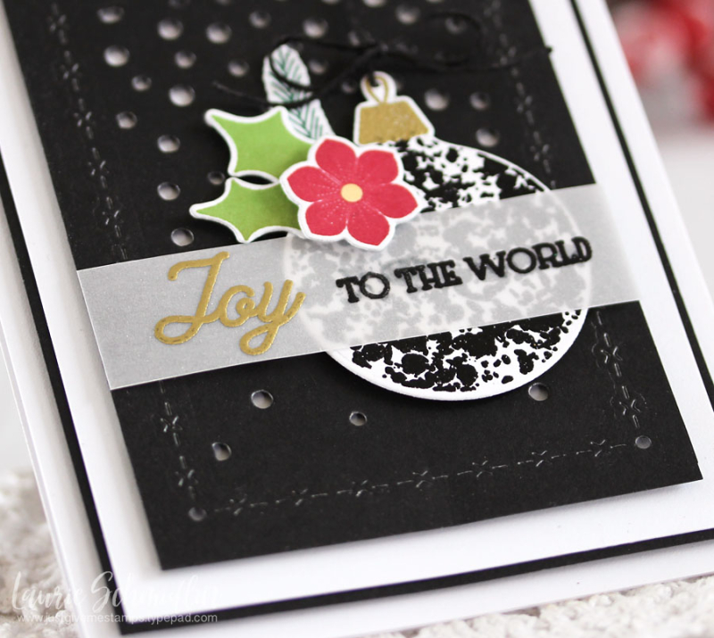 Joy to the World (detail 2) by Laurie Schmidlin