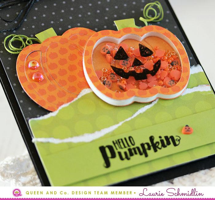 Hello Pumpkin (detail) by Laurie Schmidlin