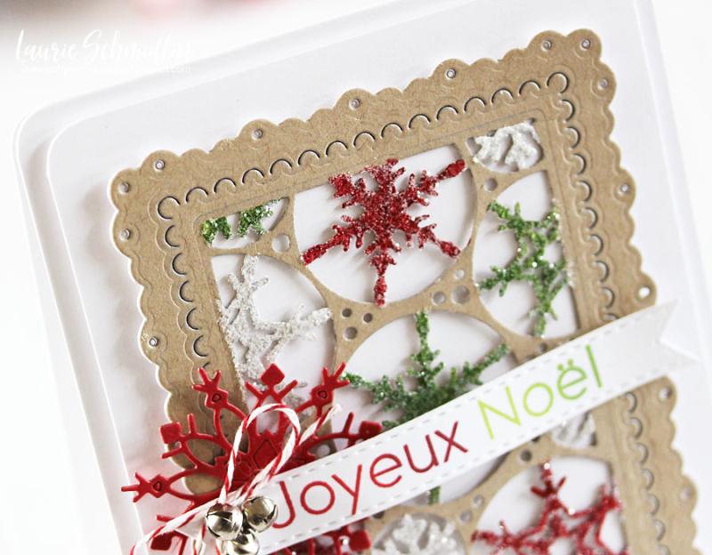 Joyeux Noel (detail 1) by Laurie Schmidlin
