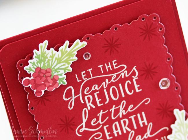 Heaven's Rejoice (detail 1) by Laurie Schmidlin