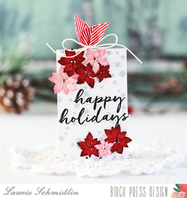 Happy Holidays Tag by Laurie Schmidlin
