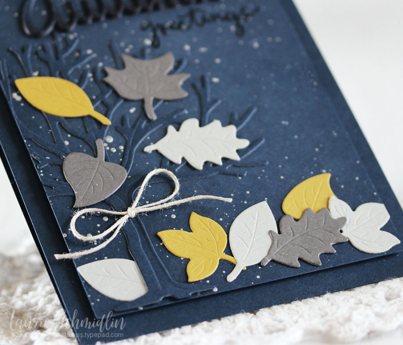 Spellbinders - Autumn Greetings (detail) by Laurie Schmidlin
