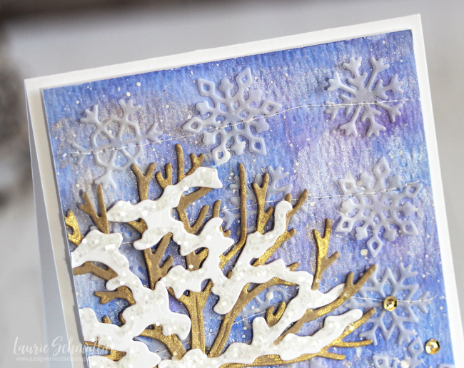 Winter Wishes (detail 1) by Laurie Schmidlin