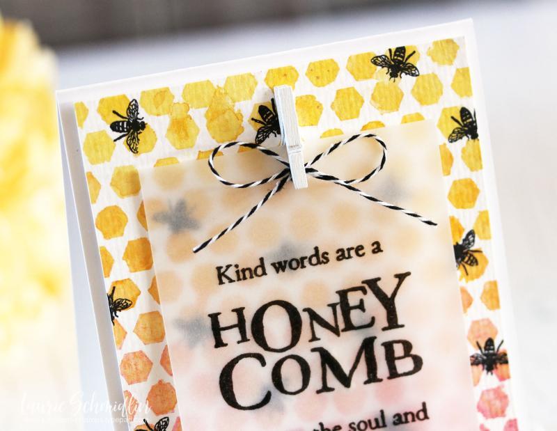 Kind Words (detail 1) by Laurie Schmidlin