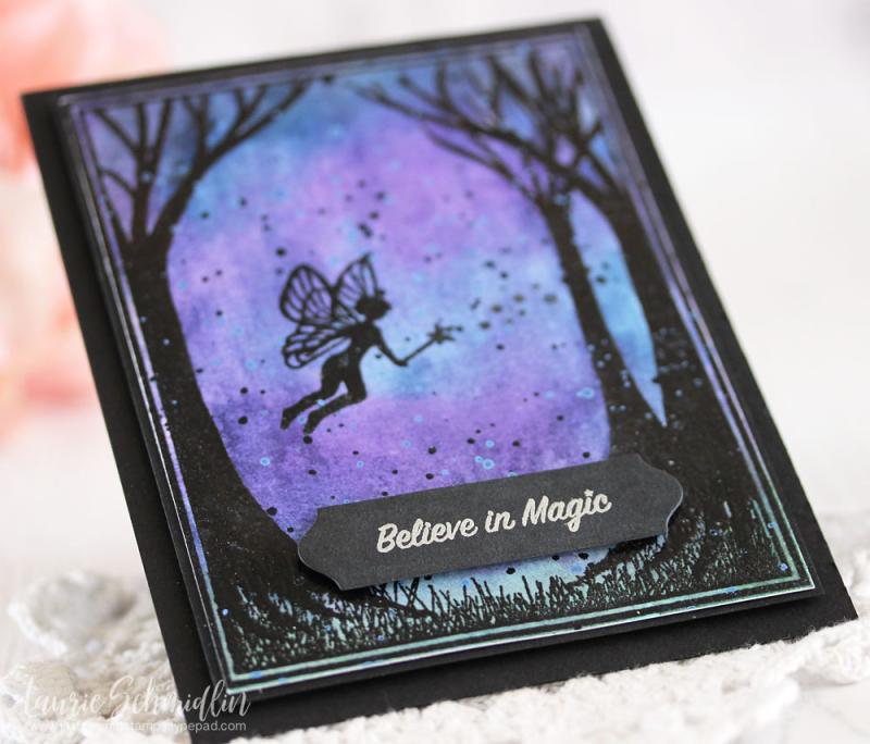 Believe in Magic (detail) by Laurie Schmidlin