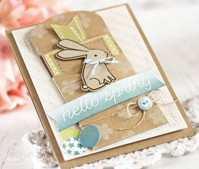 Hello Spring by Laurie Schmidlin