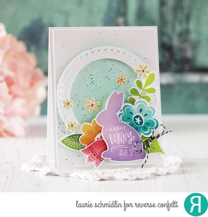 Happy Bunny Day Gift Set (Card) by Laurie Schmidlin