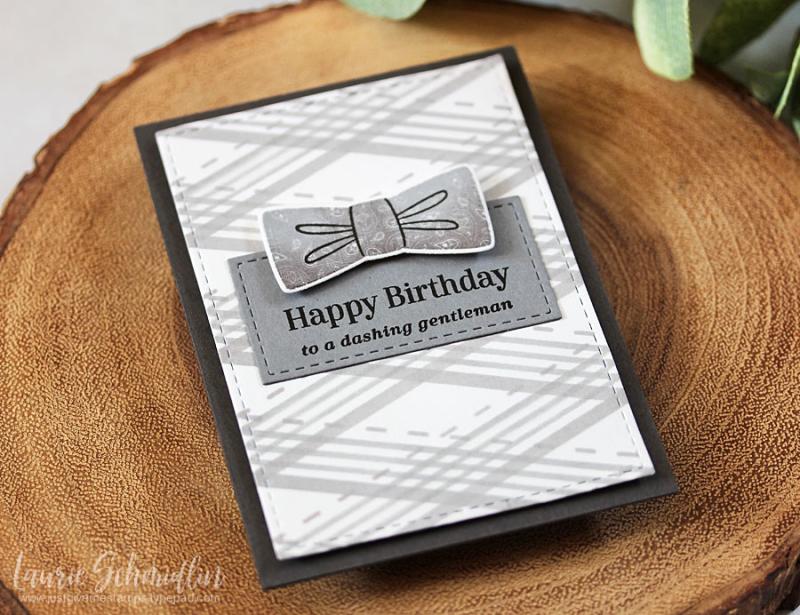Dapper Birthday (detail 1) by Laurie Schmidlin