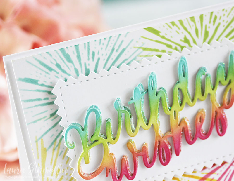 Birthday Wishes (detail 1) by Laurie Schmidlin