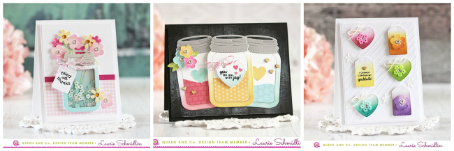 Love Jar Kit Trio by Laurie Schmidlin