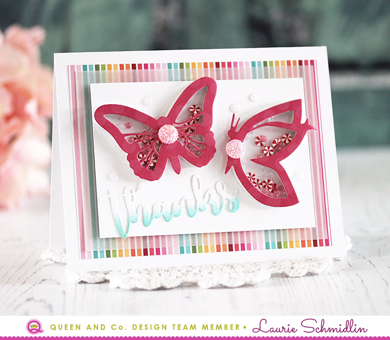 Butterfly Thanks by Laurie Schmidlin