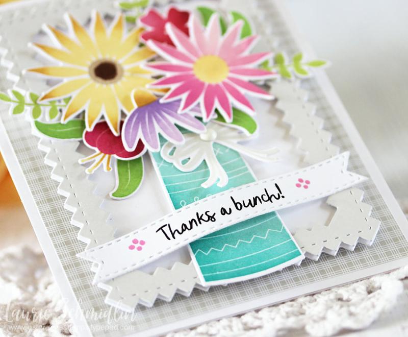 TT Thanks a Bunch (detail 2) by Laurie Schmidlin