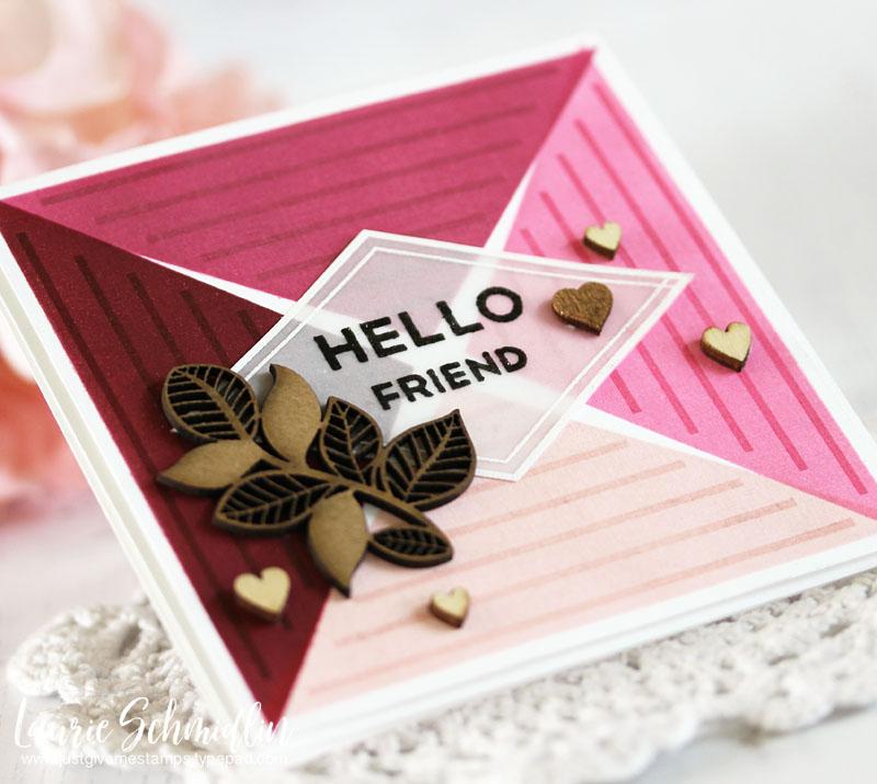 Hello Friend (detail 2) by Laurie Schmidlin