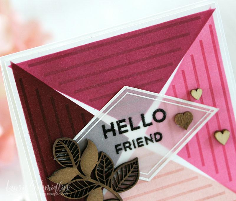 Hello Friend (detail 1) by Laurie Schmidlin