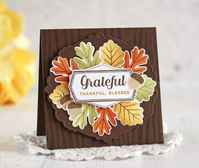 Grateful Thankful Blessed by Laurie Schmidlin