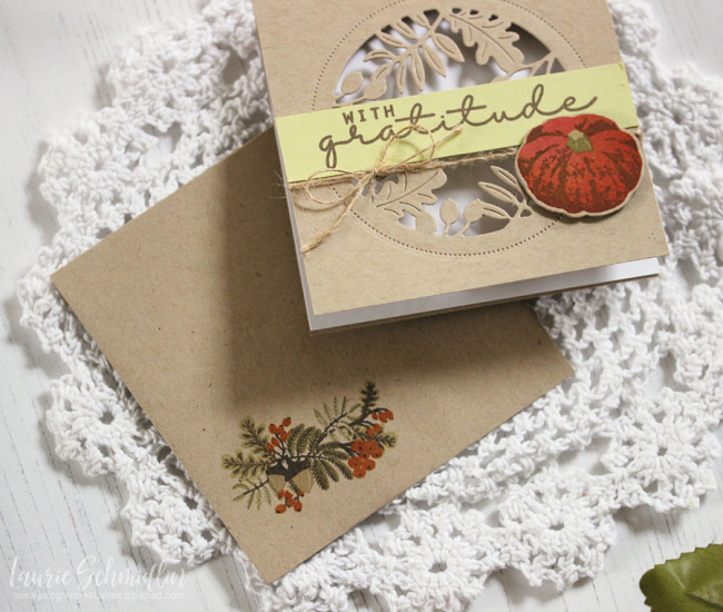 Thanksgiving Card Set 5 by Laurie Schmidlin