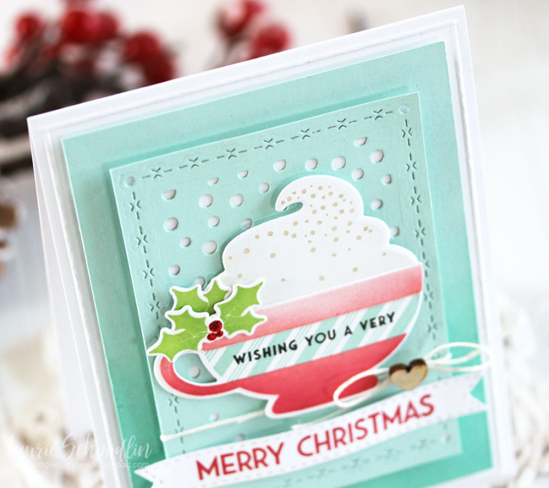 Merry Mug (detail 1) by Laurie Schmidlin