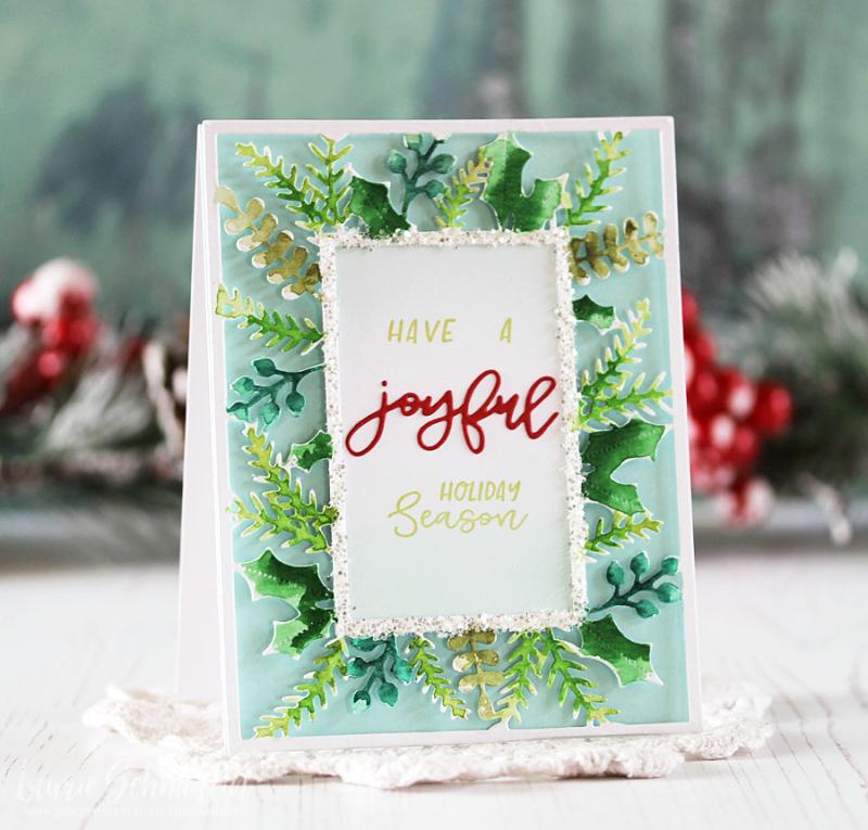 Joyful Holiday Season by Laurie Schmidlin