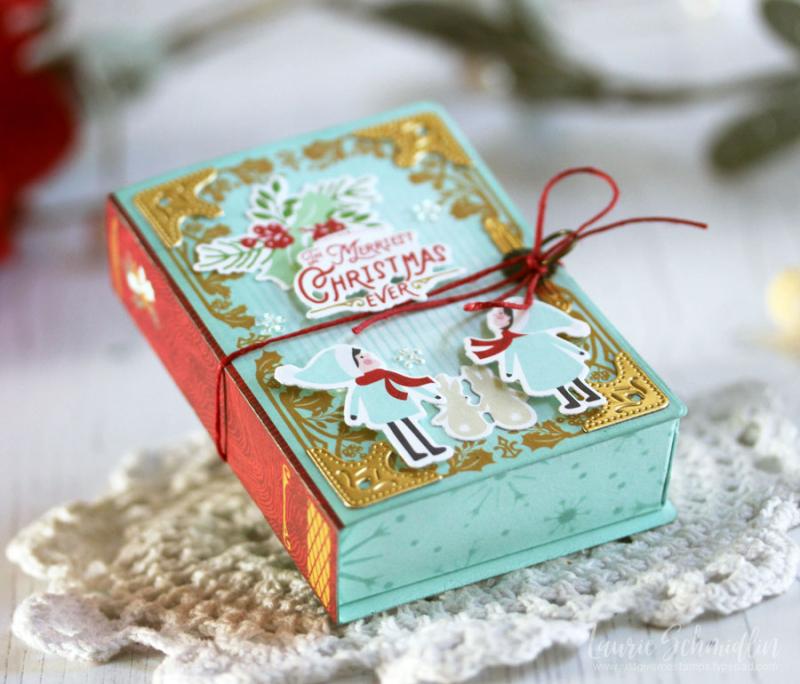 Fairy Tale Box Trio (detail 4) by Laurie Schmidlin