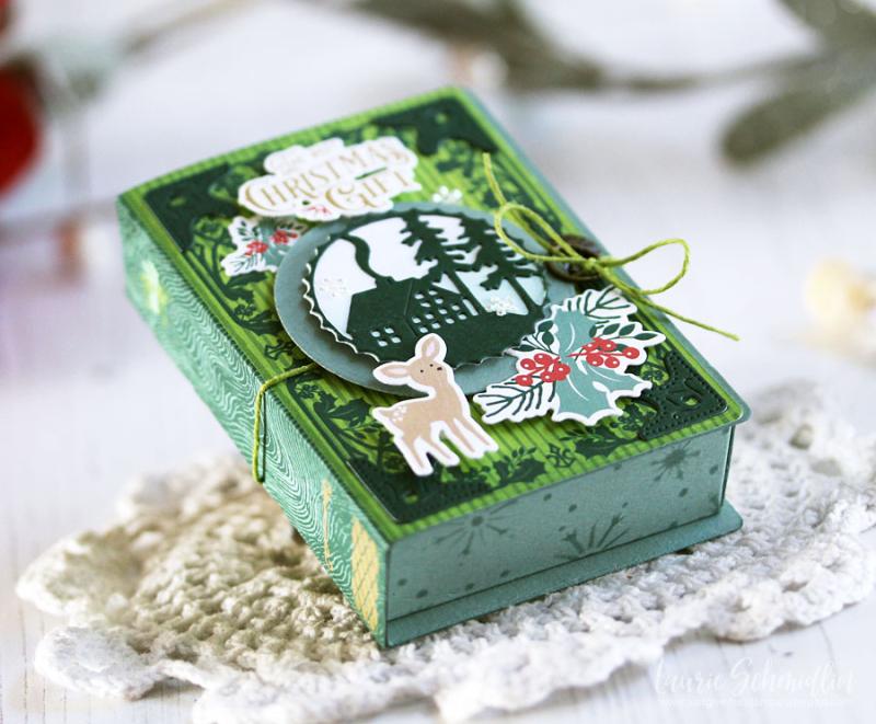 Fairy Tale Box Trio (detail 7) by Laurie Schmidlin