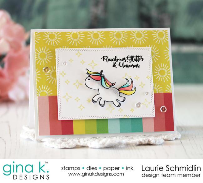 Rainbows & Glitter by Laurie Schmidlin