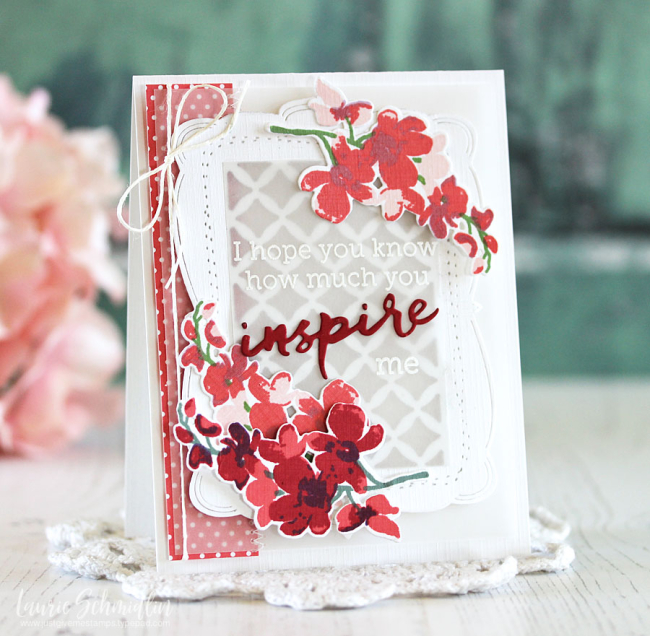 Inspire by Laurie Schmidlin