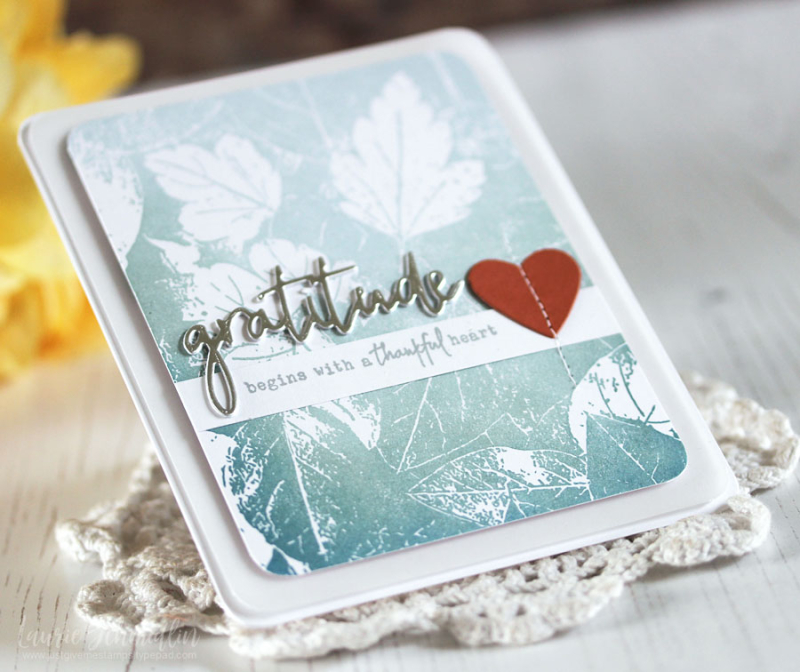 Gratitude (detail 2) by Laurie Schmidlin