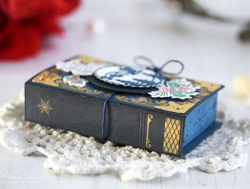 Fairy Tale Box Trio (detail 5) by Laurie Schmidlin