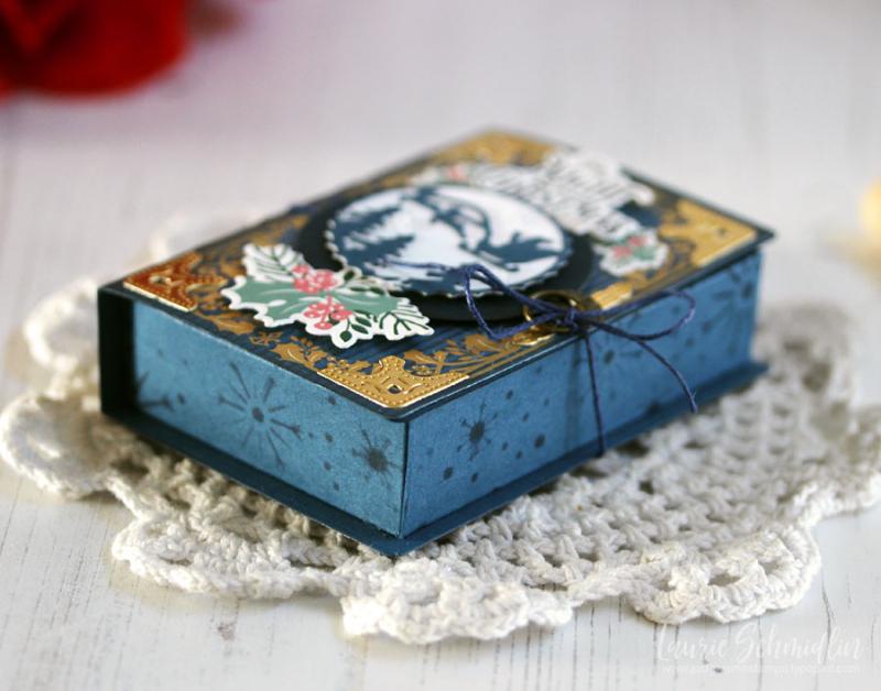 Fairy Tale Box Trio (detail 6) by Laurie Schmidlin