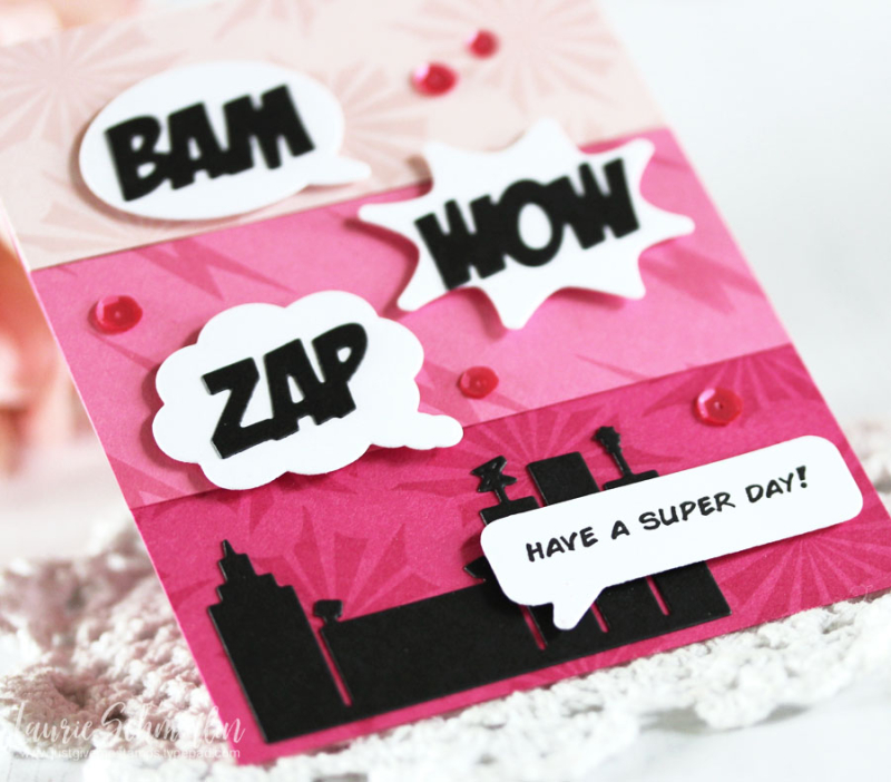Zappy Birthday (detail 2) by Laurie Schmidlin
