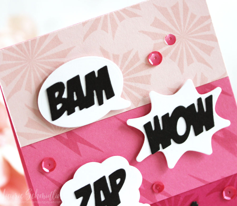 Zappy Birthday (detail 1) by Laurie Schmidlin