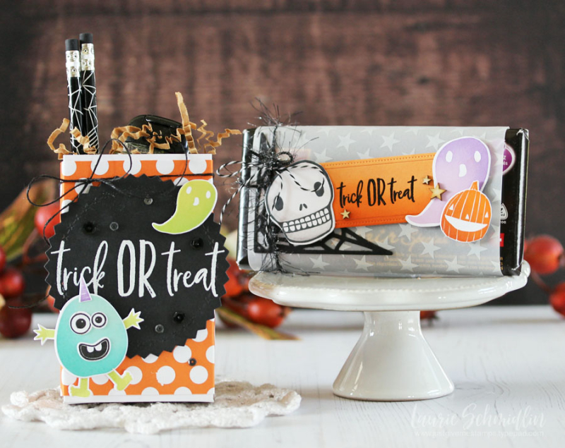 Trick or Treat Gifties by Laurie Schmidlin