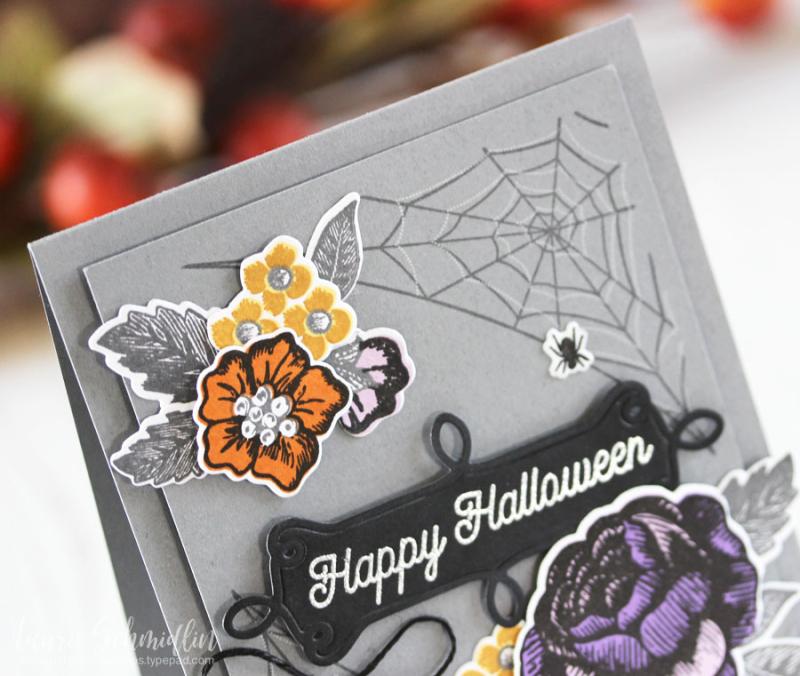 Happy Halloween (detail 1) by Laurie Schmidlin