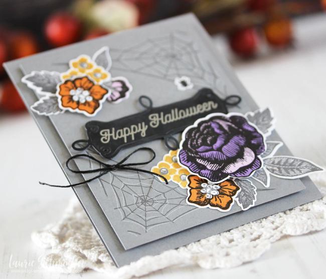 Happy Halloween (detail 2) by Laurie Schmidlin